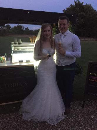 farnham castle wedding ice cream