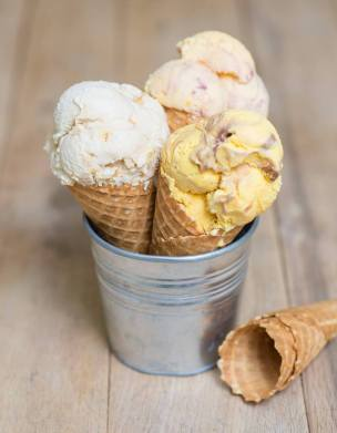 Ice Cream Cart cones