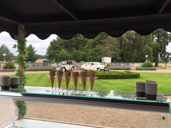 oakley hall hotel ice cream cart