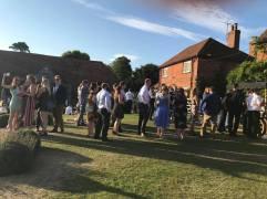 ice cream cart queue wedding victoria