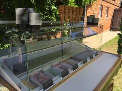 victoria ice cream cart barn