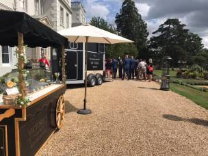 wokefield park ice cream cart
